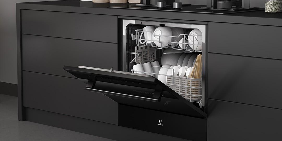 Компания Xiaomi создала умную посудомоечную машину Yunmai Smart Dishwasher