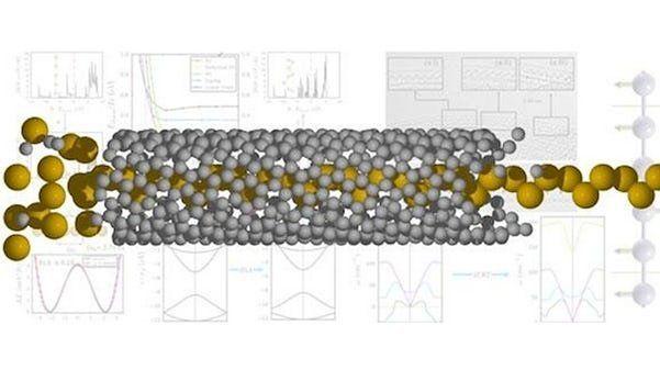 Провод сечением в один атом