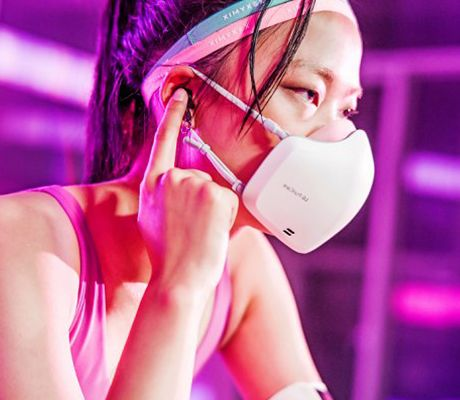 ГАДЖЕТЫ LG разработала защитную маску со встроенными микрофоном и динамиком