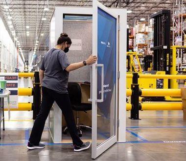 Спорное изобретение - будка от Amazon